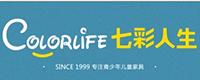 七彩人生logo