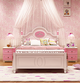恋尚美家韩式风格儿童床图片
