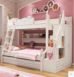 家和美居儿童高低床图片