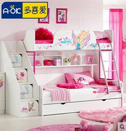 多喜爱儿童床图片