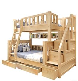 聚福财双层儿童床图片