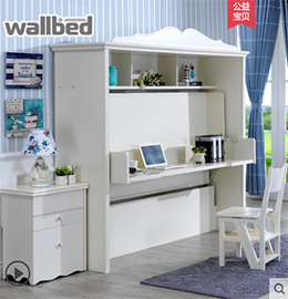 wallbed隐形儿童床图片